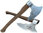 BATTLE AXES.