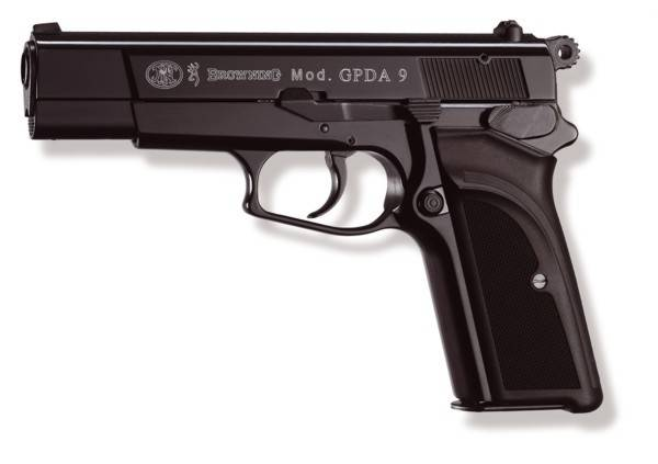 BROWNING BLACK FIRING GUN  GPDA9