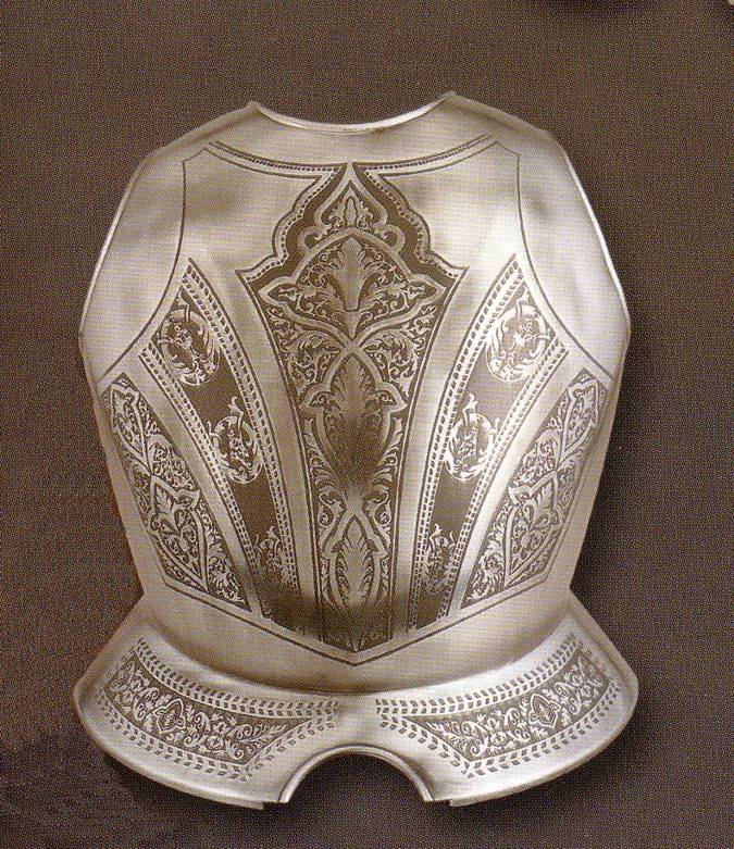 Medieval breastplates