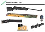 Set Blue Comet Evo BSa airgun 4,5 mm