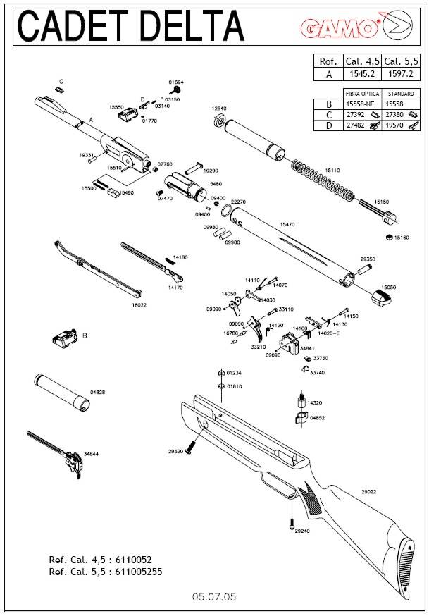 Wiring Diagrams Daisy Powerline Replacement Parts