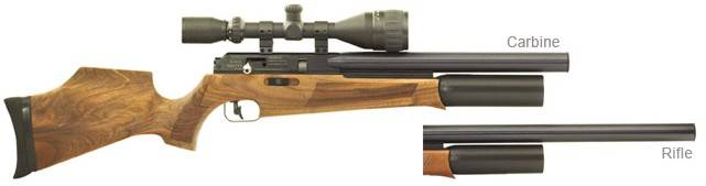 BSA SuperTen MK3 Bullbarrel airgun