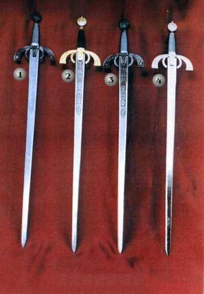 DUQUE OF ALBA SWORDS