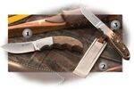 CRKT TINE SKINNER KNIVES AND SHARPENE. BEZ 2850. SHARPENE 2851. BROW 2860.