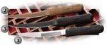 CRKT HISSATSU KNIVES. 2907. 2907D. 2907K. 2907T.
