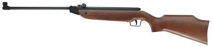 Break barrel Cometa air rifle with micrometric sights.