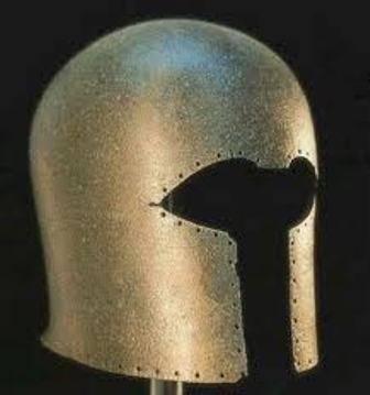 Corinthian helmet found in Guadalete Jerez