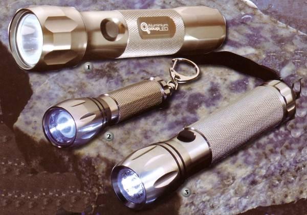 Linternas Magnum de leds o lentes de amplificafion