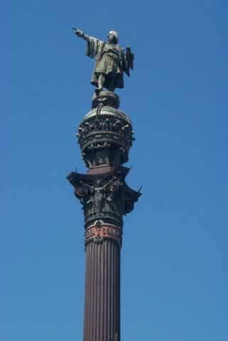 Monument to Cristobal Colon Located ...