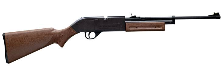 Crosman pumpmaster 760 brown airgun.