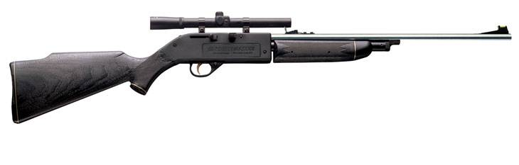 Pneumatic Crosman Powermaster 664 SB air rifle.