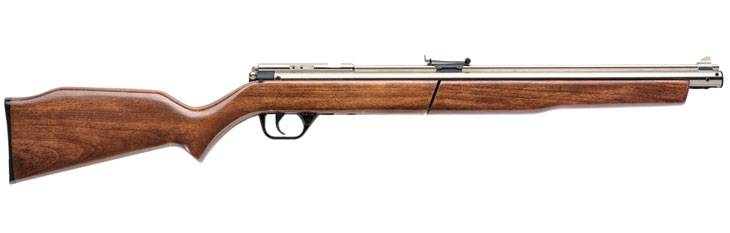 Crosman Sheridan Silver Streak pump air rifle.