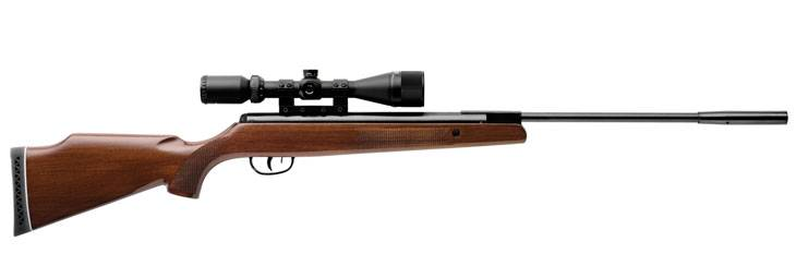 Crosman Remington Summit airgun with hardwood stock.