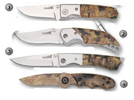 CROSSNAR MILITARY POCKET KNIVES
