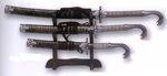 Set katanas with head of snake