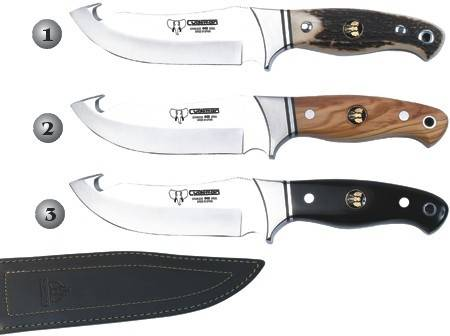 CUDEMAN HUNTING/ SKINNING KNIVES  250-C, 250-L & 250-N
