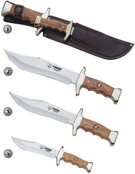 CUDEMAN HUNGING KNIVES 201-L, 202-L, 203-L & 204-L
