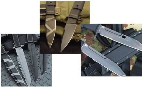 High quality in steel is the basis for the maximun performance and endurance of a knives blade