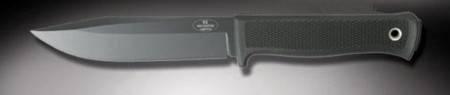 Fallkniven S1bzLeft knife. Mount hunters knives.
