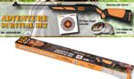 Gamo Set Rifle Aventure Survival Bear Grylls + Target Field Bear Grylls + Pellets Soft Poi