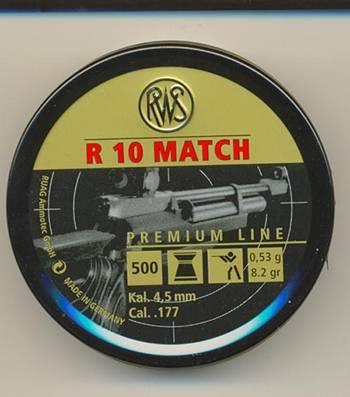 R10 MATCH PELLETS