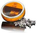 RWS Club pellets caliber 4,5 mm.