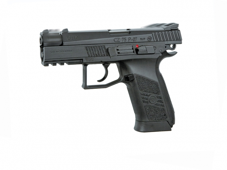 CZ 75 P-07 DUTY NON BLOWBACK PISTOL,