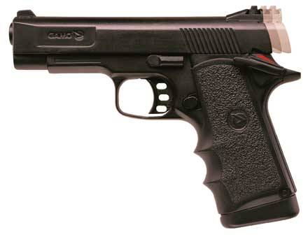 Gamo airpistol  Co2 V-3 black 4'5. It has back metal upper body