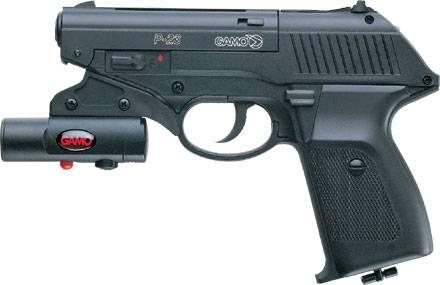 pistol laser accuracy