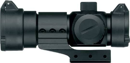 Gamo Red-Dot AD30.  It is made of specially anodized aluminum, which makes it very light