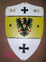 MEDIEVAL BARBAROSSA SHIELD