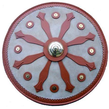 ROMAN SHIELD OF LEATHER