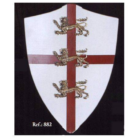 MEDIEVAL SHIELD RICHARD THE LIONHEART