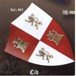MEDIEVAL THE CID SHIELD