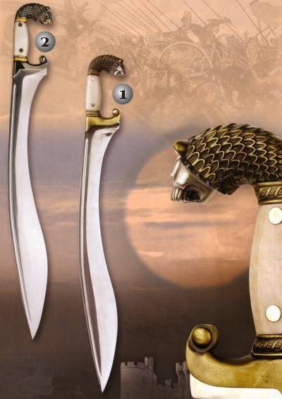Alexander the great battle swords