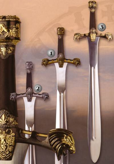 Alejandro Magno ceremonial swords