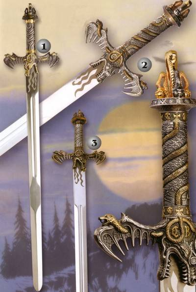 Barbarian swords