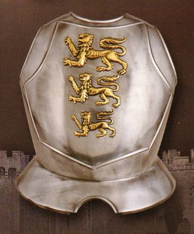 Medieval breastplates
