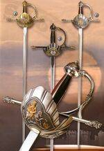 Musketeers swords