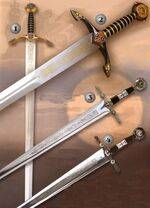 The black prince swords and The Great Master of Temple swords