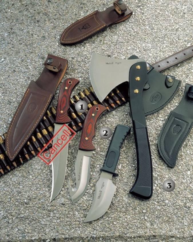 Mount knives of the of the prestigious spanish mark Muela