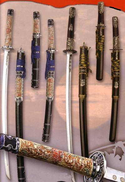 Several Japanese Swords