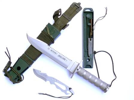 Survival kit of Jungle King knife