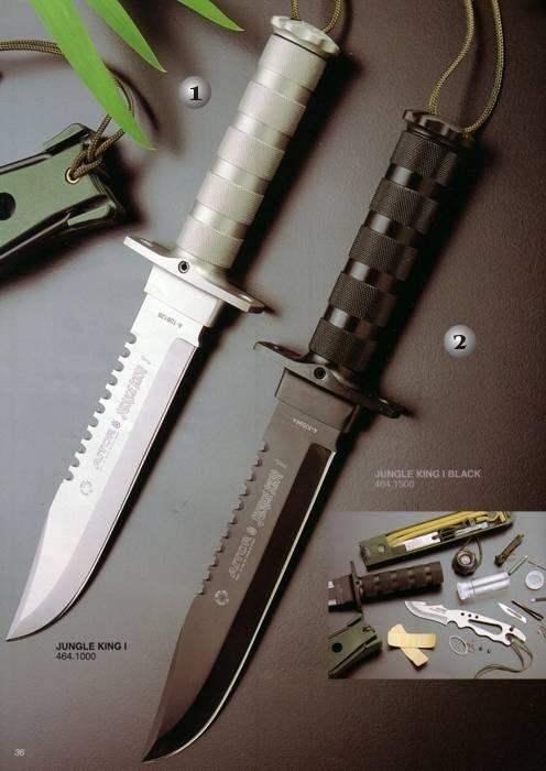 White Jungle King I And Black Jungle King I Aitor Knives