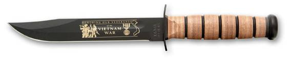 Vietnam Commemorative USMC  Ka Bar knife