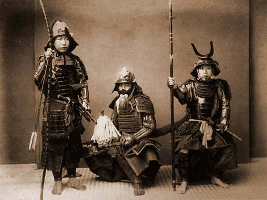 Katanas, armour and other swords of the Samurai warrior