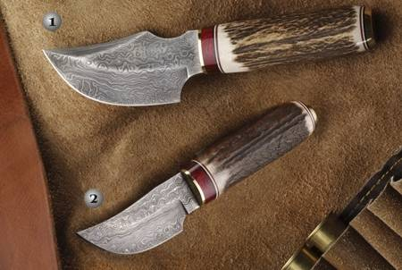 KNIVES OF DAMASCUS STEEL
