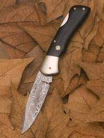 PENKNIFE OF DAMASCUS STEEL