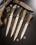 ALCARAZ-26N KNIVES, ALCARAZ-26A KNIVES, ALCARAZ-26S KNIVES AND ALCARAZ-19S KNIVES