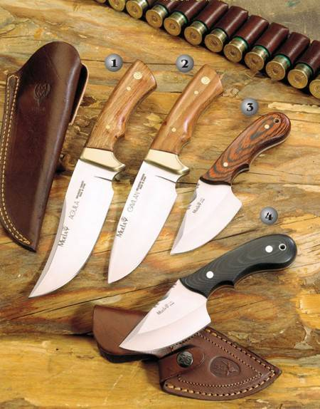AGUILA KNIFE, GAVILAN KNIFE, COBRA-8R KNIFE AND COBRA-8M KNIFE